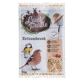 LandPartie Wildvogel Erdnussbruch 5kg Beutel