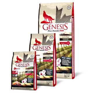 GENESIS Pure Canada Hundefutter Senior Wide Country mit Ente & Huhn 2,268kg