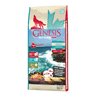 GENESIS Pure Canada Hundefutter Adult Blue Ocean mit Lachs & Hering 11,79kg