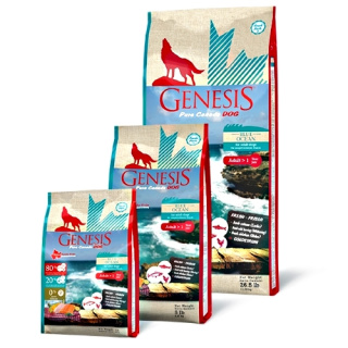GENESIS Pure Canada Hundefutter Adult Blue Ocean mit Lachs & Hering 2,268kg