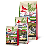 GENESIS Pure Canada Hundefutter Junior Green Highland mit...