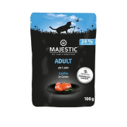 MAJESTIC Katzennassfutter Adult Lachs in Gelee 100g