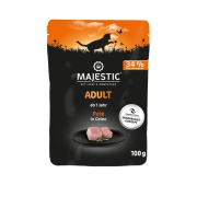 MAJESTIC Adult Katzennassfutter Pute in Gelee 100g