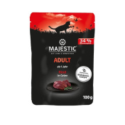 MAJESTIC Adult Katzennassfutter Rind in Gelee 100g