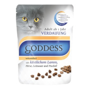GODDESS Katzenfutter Adult Sensitive mit Lamm 750g