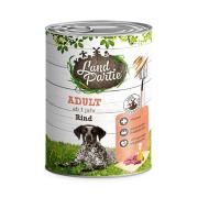 LandPartie Hundefutter ADULT mit Rind 800g