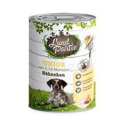 LandPartie Hundefutter JUNIOR mit Hühnchen 800g