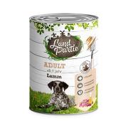 LandPartie Hundefutter ADULT mit Lamm 800g