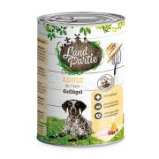 LandPartie Hundefutter ADULT mit Geflügel 400g