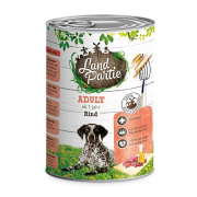 LandPartie Hundefutter ADULT mit Rind 400g