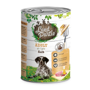 LandPartie Hundefutter ADULT mit Kalb 400g