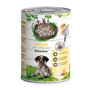 LandPartie Hundefutter JUNIOR mit Hühnchen 400g