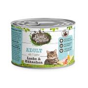 LandPartie Katzennassfutter ADULT mit Lachs und...