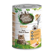 LandPartie Katzennassfutter ADULT mit Pute,Huhn und Gans...