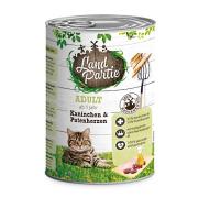 LandPartie Katzennassfutter ADULT mit Kaninchen und...