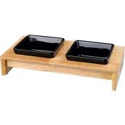 Trixie Napf Set Keramik Holz