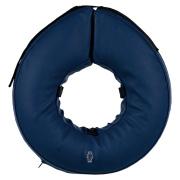 Trixie Schutzkragen L - XL blau aufblasbar