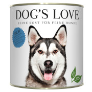 Dogs Love Hundenassfutter Adult mit Fisch 800g