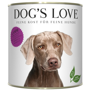Dogs Love Hundenassfutter Adult mit Lamm 800g