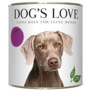 Dogs Love Hundenassfutter Adult mit Lamm 800g