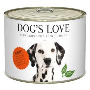 Dogs Love Hundenassfutter Adult mit Rind 200g