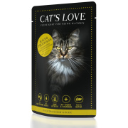 Cats Love Katzennassfutter Adult Mix mit Kalb & Trutahn 85g