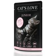 Cats Love Katzennassfutter Junior mit Huhn 85g