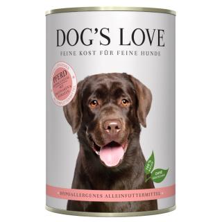 Dogs Love Hypoallergenes Nassfutter mit Pferd 400g