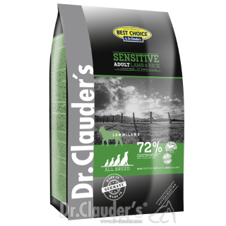 Dr. Clauder´s Best Choice Lifecycle Sensitive Adult mit Lamm und Reis 12,5kg