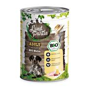 LandPartie Hundefutter BIO ADULT mit Bio-Huhn 400g