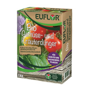 Euflor Bio Gemüse- und Kräuterdünger 1 kg