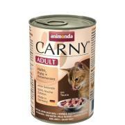 animonda Carny Adult Huhn, Pute und Entenherzen 400g