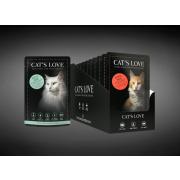 Cats Love Katzennassfutter Multipack Adult 12x85g