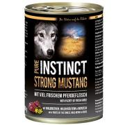 PURE INSTINCT Hundenassfutter Strong Mustang  mit Pferd 400g