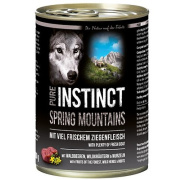 PURE INSTINCT Hundenassfutter Spring Mountains mit Ziege...