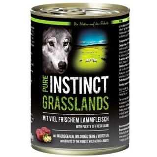 PURE INSTINCT Hundenassfutter Grasslands  mit Lamm 400g
