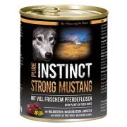 PURE INSTINCT Hundenassfutter Strong Mustang  mit Pferd 800g