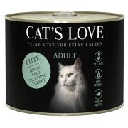 Cats Love Katzennassfutter Adult mit Pute pur 200g