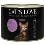 Cats Love Katzennassfutter Adult mit Fisch & Huhn 200g