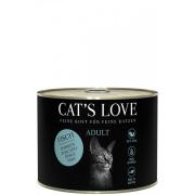 Cats Love Katzennassfutter Adult mit Fisch 200g