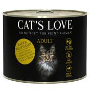 Cats Love Katzennassfutter Adult mit Kalb & Truthahn...