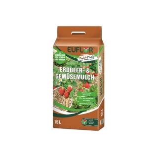 Euflor Mulch Minis Erdbeer- und Gemüsemulch 15Ltr.