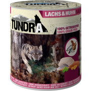 Tundra Hundenassfutter mit Lachs und Huhn 800g