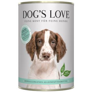 Dogs Love Hypoallergenes Nassfutter mit Ente 800g