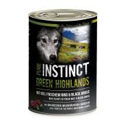 PURE INSTINCT Hundenassfutter Green Highland mit Rind und...