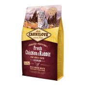 Carnilove Trockenfutter Adult mit Huhn und Kaninchen 2 kg