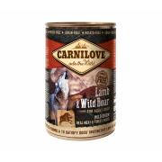 Carnilove Nassfutter Adult mit Lamm und Wildschwein 400g