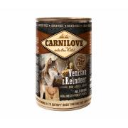 Carnilove Nassfutter Adult mit Hirsch und Rentier 400g