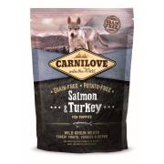 Carnilove Trockenfutter Puppy mit Lachs und Truthahn 1,5kg