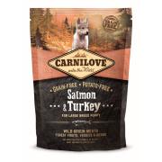 Carnilove Trockenfutter Large Breed Puppy mit Lachs und...